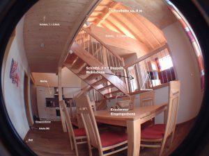 Wohnung mit Etagenangabe und Zimmerlage